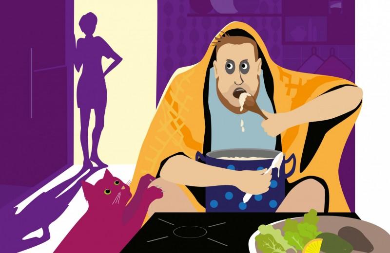 Фильм ужасов «Муж на диете»: приказано выжить