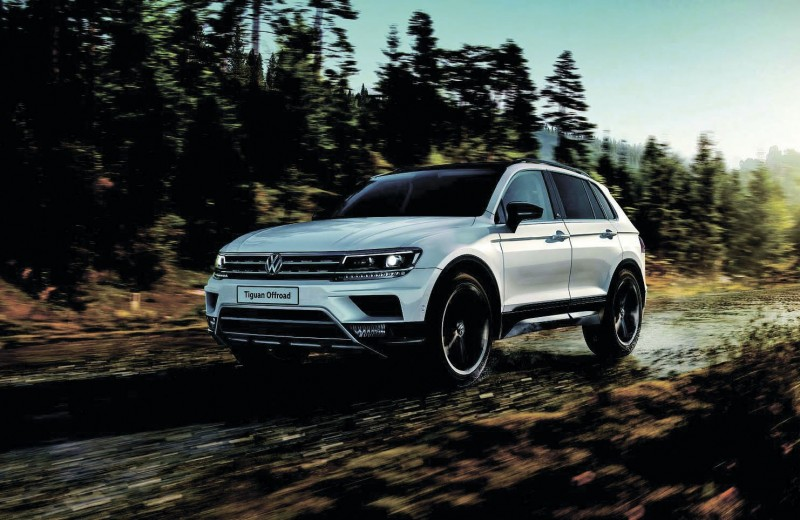Новый Tiguan Off road