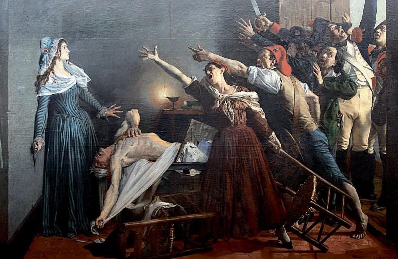 Лидеры французской революции