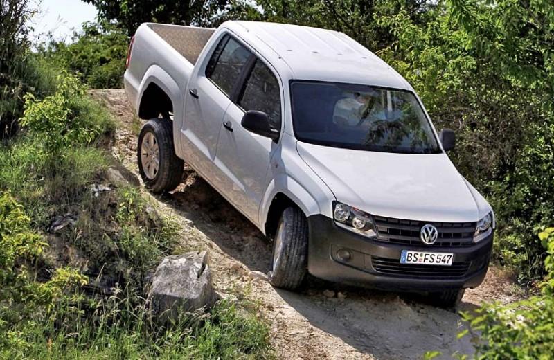 VW Amarok: копите деньги