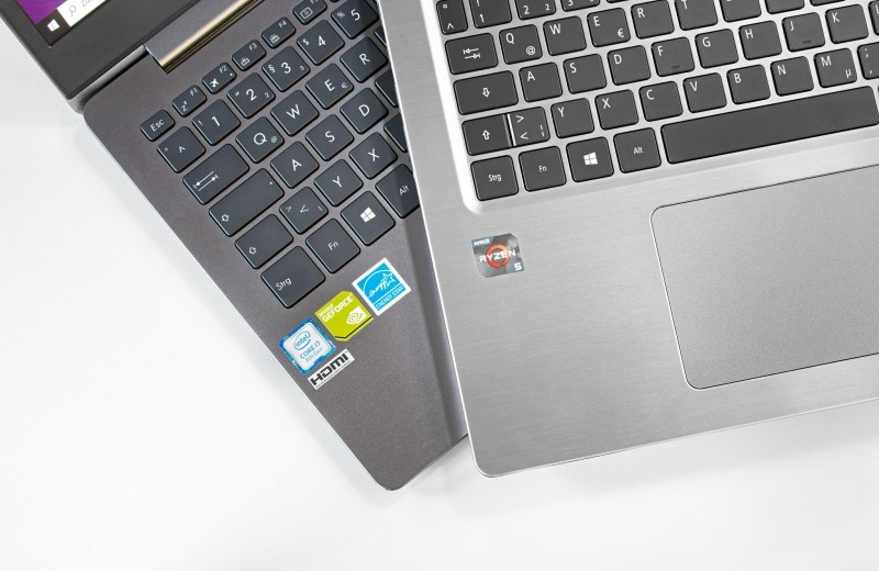 Дуэль ноутбуков: AMD Ryzen против Intel