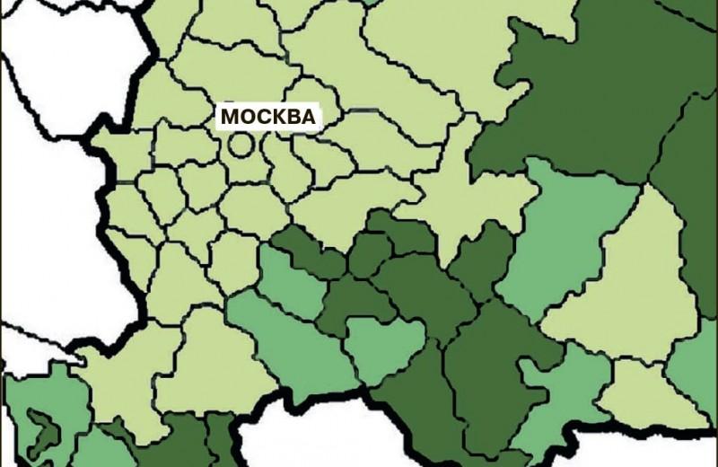 Этнические потоки европейской России: от переписи к переписи