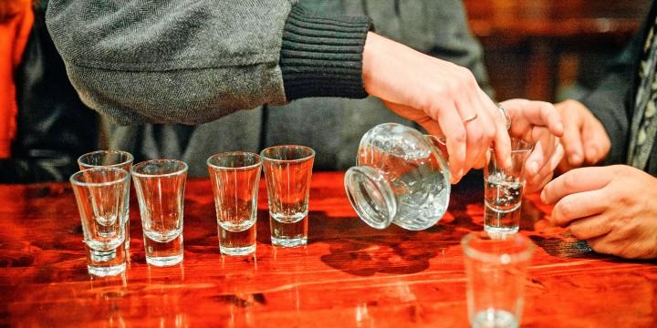 Из Казани с водкой