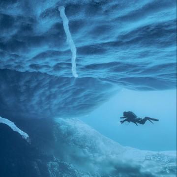 Красота подо льдами