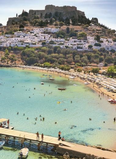 Греция на суше и на море