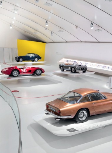 Ареал обитания Ferrari