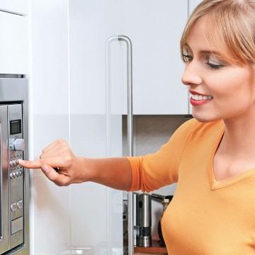 Еда из микроволновки:безопасность гарантирована?