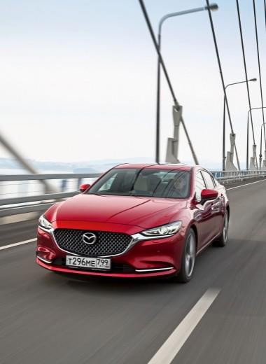 Mazda6: Восход солнца