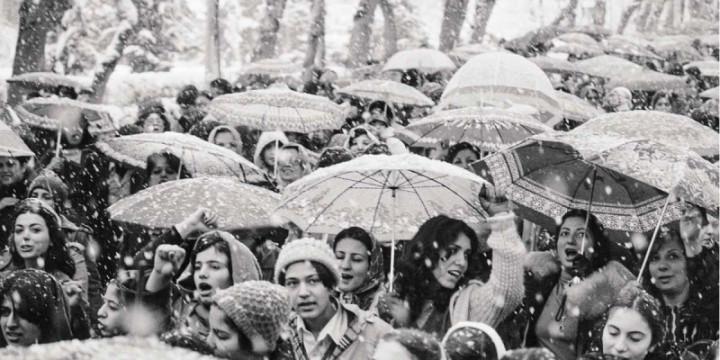 Женщины Ирана против хиджабов
