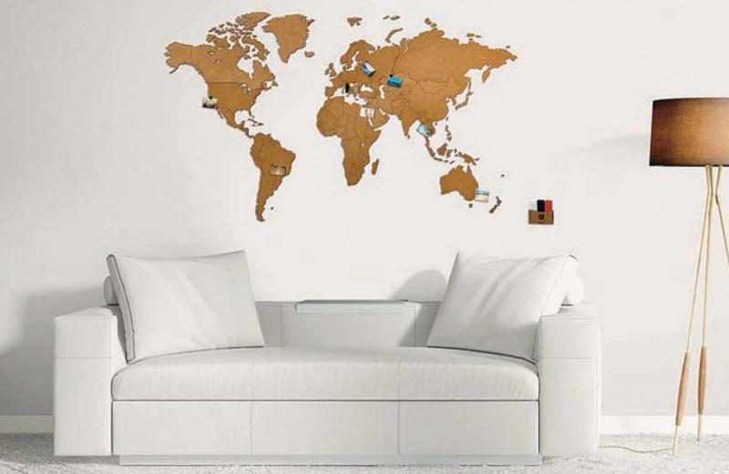 Карта мира завоевывает мир