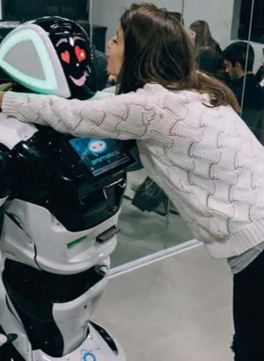 Роботы с уникальным функционалом